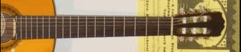 Difference between fretted notes and open strings