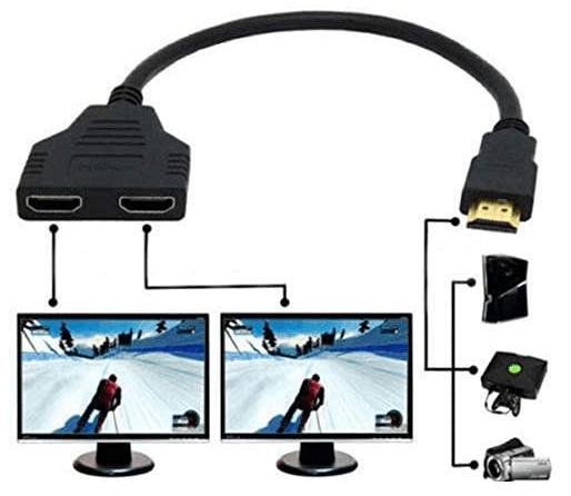 How Do I Setup Dual Monitors Using HDMI Splitter?