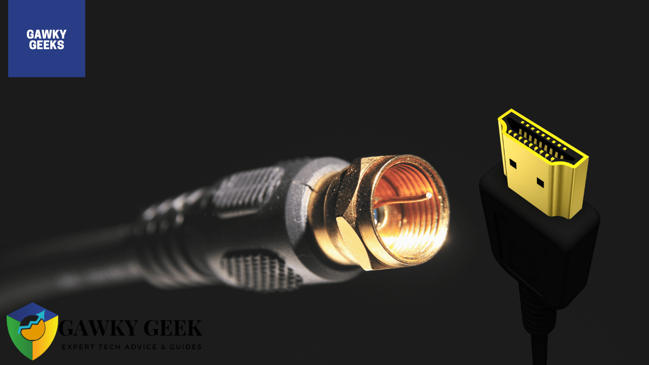 Is Coaxial Better Than HDMI?